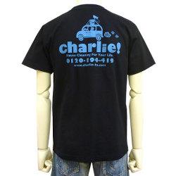 charlie!Tシャツブラックバック