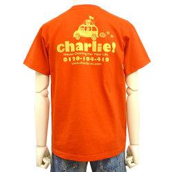 charlie!Tシャツレッドバック