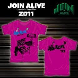 JOIN ALIVEオフィシャルTシャツ-B