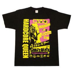 松本都選手Tシャツ2ブラックフロント