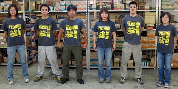 テクノライトTシャツ着用例